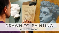 Join artist Rob Zeller for a dynamic introduction to creating a drawing based on a cast, then use your drawing skills to create a painting. - via @Craftsy