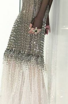 Chanel Very ethereal, almost incredibly so for the house of Chanel. (Little twist for Lagerfeld this season. I quite like it).