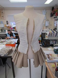 Art GCSE Paper Bag Jacket #draping