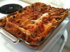 ✓ dairy free lasagna surprisingly delicious!