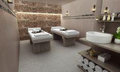 Cabine soins Hôtel l'héliopic - Chamonix mont-blanc. Plus d'informations sur: www.heliopic-hotel-spa.com