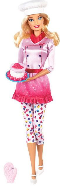 Barbie Sweet Chef Doll 2013 by **BarbieLover**, via Flickr