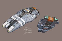 ArtStation - Homeworld2 Designs, David Cheong