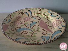 Prato raso em cerâmica                                                                                                                                                                                 Mais