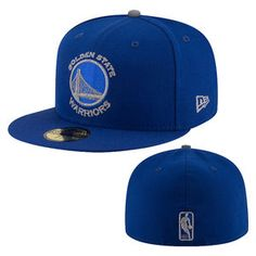 Golden State Warriors New Era Primary Logo Flective 59FIFTY - Royal
