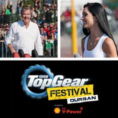 The Moses Mabhida Stadium, Durban Street Circuit and People's Park will play host to the Top Gear Festival in Durban. Top Gear, Circuit, Gears, Play, Street, Digital, People, Tops, Gear Train