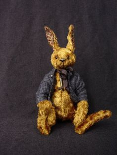 Golden Delicious One Of a Kind Artist Rabbit from aerlinnbears