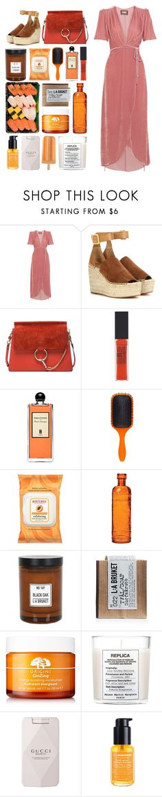"""5470"" by katrina-yeow ❤ liked on Polyvore featuring Reformation, Chloé, Maybelline, Serge Lutens, Denman, Burt's Bees, Cultural Intrigue, L:A Bruket, Origins and Maison Margiela"