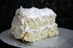 My first recipe ever! This one comes to you from my mom in Boston. She came across it years ago and had yet to make it until this weekend. The cake is moist and dense, and the cream cheese frosting melds perfectly with the nuttiness of the coconut. Pour a tall glass of milk, throw...Read More »