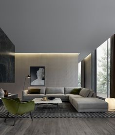 Pictures Of Modern Living Rooms. The Bristol sofa  designed by Jean Marie Massaud for Poliform features broad soft and comfortable shapes is allows versatile living combinations 100 Modern Living Room Interior Design Ideas room