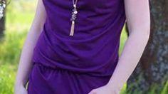 Ebook Wasserfallkleid / - Shirt CLARY Gr. XS-XXL bei Makerist