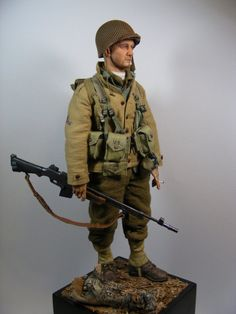 1st Infantry Division BAR gunner by Boot25