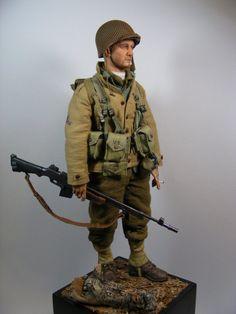 1st Infantry Division BAR gunner by Boot25