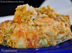 Torta de Maçãs com Aveia ~ Veganana