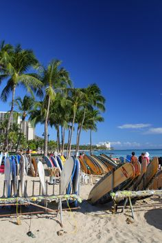 Waikiki Beach, Honolulu, Oahu, #Hawaii