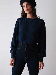 Long Sleeve Silk Blouse Photo Link, Bell Sleeve Top, Silk, Blouse, Long Sleeve, Sleeves, Tops, Women, Fashion