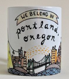 Portland Proud: Furniture & Accessories By, From & About Stumptown - See-All Moving To Portland, Portland Oregon, Oregon Trail, Oregon Living, Oregon Washington, Best Cities, North West, Crafty, Design