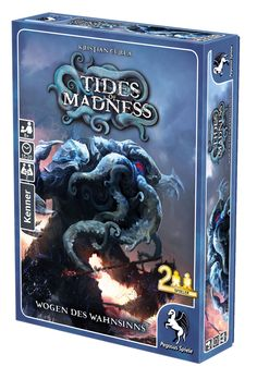 3.3 stars. Card game with Cthulhu theme pasted on.