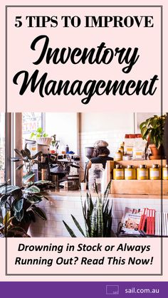 Drowning in Stock or Always Running Out? Heres 5 Tips to Improve Inventory Management for Small Business Owners Entrepreneurs and Startups Business Dashboard, Business Goals, Business Entrepreneur, Business Tips, Successful Business, Inventory Management, Management Tips, Goals Printable, Digital Strategy