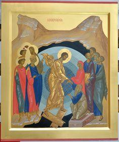 Christ Is Risen, He Is Risen, Best Icons, Holy Family, Orthodox Icons, Sacred Art, Religious Art, Religion, Scene