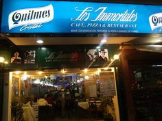 Pizzeria Los Inmortales Broadway Shows, Buenos Aires, Argentina, Be Nice