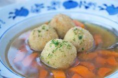 Dumplings, Food And Drink, Soup, Eggs, Cooking, Breakfast, German Recipes, Austria, Blog