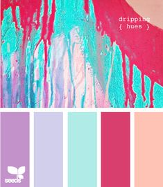 Color palette for the girls' room!