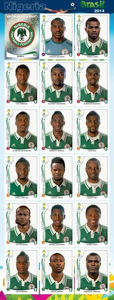 Equipo - Nigeria - Mundial Brasil 2014