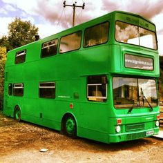 With three bedrooms, a bathroom and a kitchen, the bus is a fun, funky place to spend the night, and it resides in the gorgeous Sussex area. Once you see the interior, you won't believe this double-decker getaway used to be a working bus.