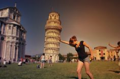 Pisa Fall Over, Pisa, Tower, Spaces, Inspired, World, Travel, Rook, Viajes