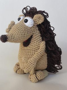 Looking for your next project? You're going to love Quilliam the Hedgehog Amigurumi Crochet by designer IlDikko. - via @Craftsy