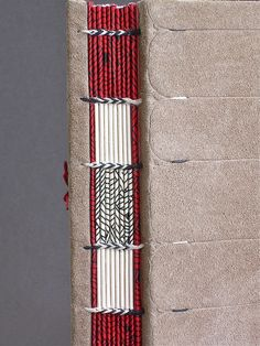 ethiopian binding - spine detail by ortbindery, via Flickr