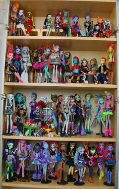 All about Monster High: My Monster High doll collection