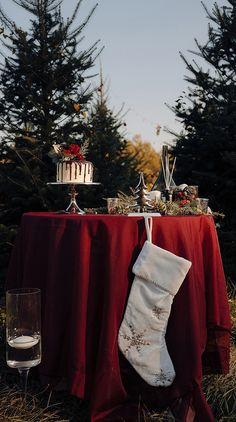 Christmas Tree Farm, Rustic Christmas, Christmas Wedding, Christmas Stockings, Farm Wedding, Wedding Shoot, Boho Wedding, Taylor Swift Songs, Wedding Inspiration