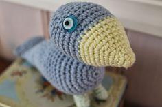 En kreativ verden: Hæklet birdie a la Kaj Bojesen