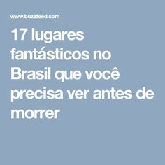 17 lugares fantástic