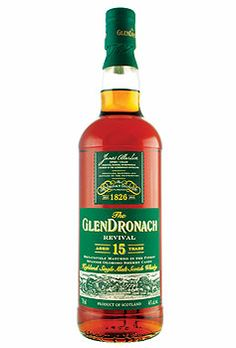 THE GLENDRONACH REVIVAL 15 YEAR OLD SINGLE MALT, $119.00 #stpatricksday #gifts #1877spirits