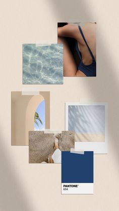 Oceanside Semi-Custom Brand by Assimilation Designs My New Room, My Room, Room Inspiration, Design Inspiration, Moodboard Inspiration, Aesthetic Room Decor, Photocollage, Pastel Wallpaper, Wall Collage
