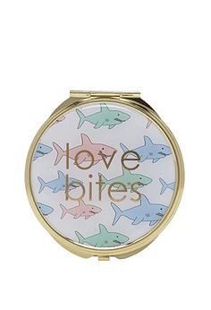 Shark Print Compact Mirror | FOREVER21 - 1000097289