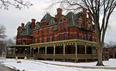 The Florence Hotel in the Pullman Neighborhood of Chicago