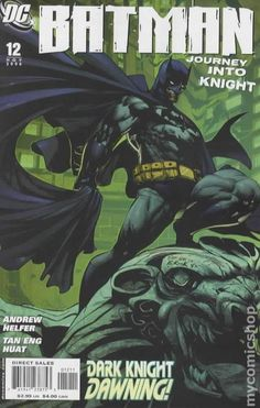 Batman Journey into Knight (2005) 12 DC Comic Book cover Modern Age