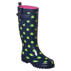 $32.99  ON-LINE ONLY  Women's Frog Rain Boots - Navy  Free shipping when you spend $50  Rating: Not rated be the first to review  Facebook like link   size : sizing chart