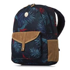 Roxy Carribean Backpack - Midnight Palm | Free UK Delivery*