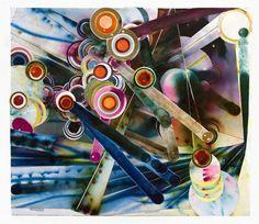 """Firework Drawing #70"", 2011. Rosemarie Fiore"