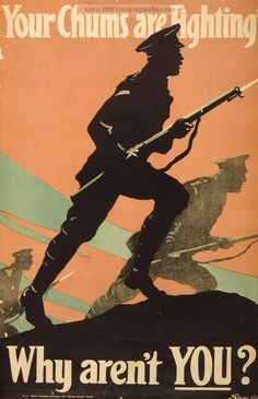 Examples of Propaganda from WW1 | Canadian WW1 Propaganda Posters Page 33