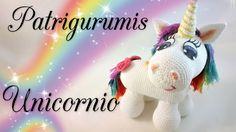 Como montar el unicornio amigurumi!!