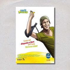 Manuela Armanno: Campagna Promozione Concorso Chiquita Mania