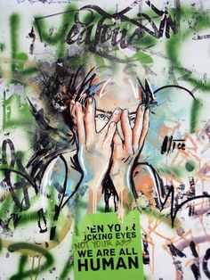 Graffiti art by Alice in Berlin #graffiti #street #art This is Art, not Mine nor yours, but It deserves to be seen...by everyone...Share it...