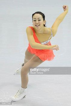 Mao Asada of Japan competes in the Ladies Short Program during the 2013 ISU World Figure Skating Championships at Budweiser Gardens on March 14 2013...