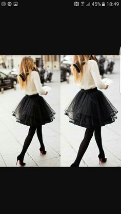 883c4580259 Mini short Puffy Black tulle Skirt With Ruffles Fashion sexy tutu 62  colours Woman Midi skirt puls size 2017